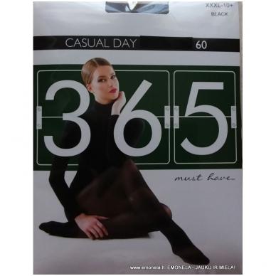 Pėdkelnės 365 linija CASUAL DAY  60 den/ 10+ 4