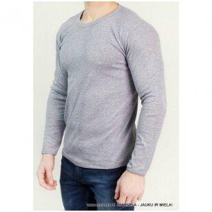 Marškinėliai apatiniai vyriški, ilgomis rankovėmis