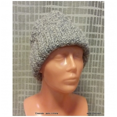 Kepurė megzta
