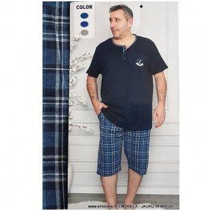 Pižama vyriška LANGUOTA, trumpa, 2 dalių
