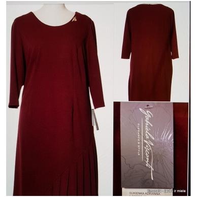 Suknelė ADRIANNA, bordo 5
