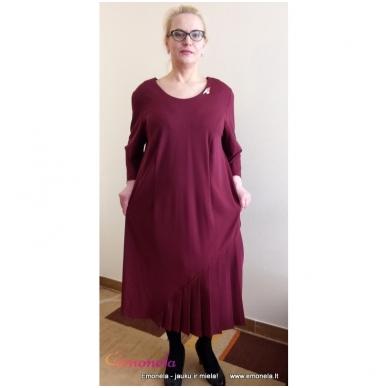Suknelė ADRIANNA, bordo 3